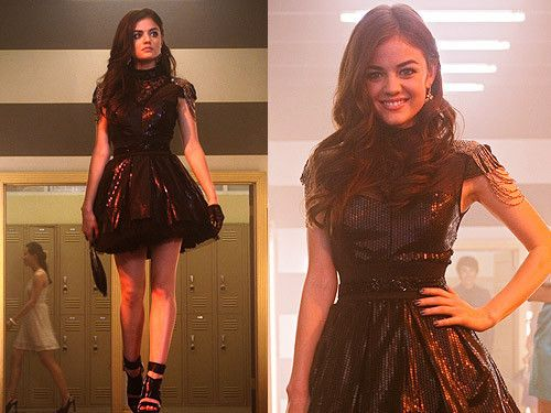 TV style icons - Aria Montgomery Outfits